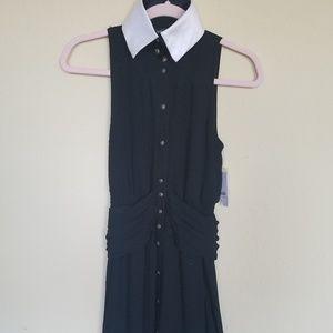 Karl Lagerfeld for Impulse black and white dress